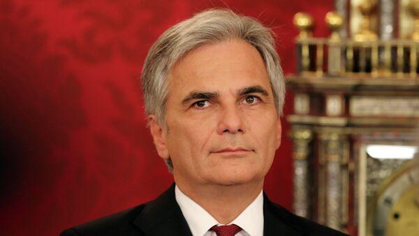 Werner Faymann, cancelliere austriaco - Sputnik Italia