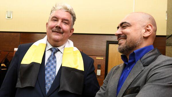Candidato alla presidenza Sergey Baburinil, leader del partito politico nazional-conservatore Unione panrussa - Sputnik Italia