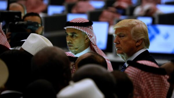 Il presidente USA Donald Trump in Arabia Saudita (foto d'archivio) - Sputnik Italia