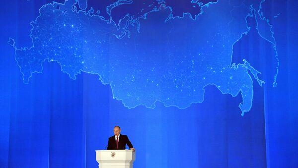 L'intervento del presidente Putin all'Assemblea Federale - Sputnik Italia