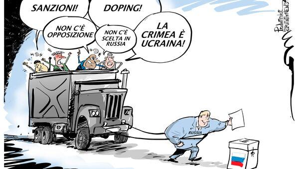 Risultati delle elezioni russe - Sputnik Italia