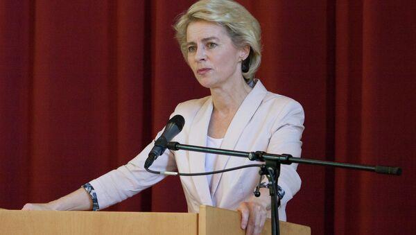 Ministro Difesa Germania Ursula von der Leyen - Sputnik Italia
