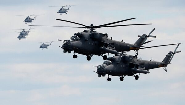 Mi-35 helicopters - Sputnik Italia