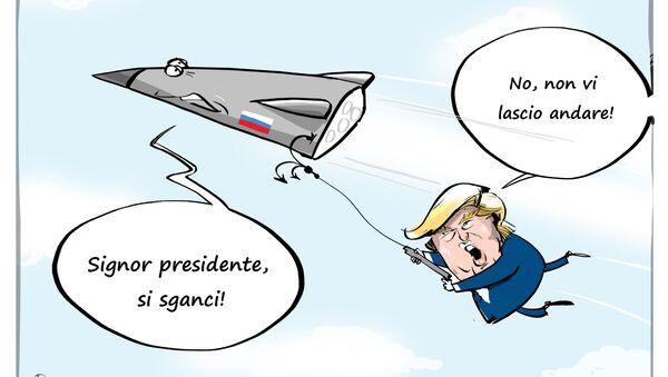 Trump a Putin: gli USA trionferanno nella nuova corsa agli armamenti - Sputnik Italia