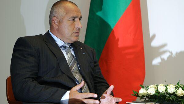 Председатель Совета Министров Республики Болгария Бойко Борисов во время беседы с премьер-министром РФ В.Путиным - Sputnik Italia