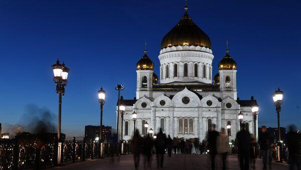 Mosca, la chiesa di Cristo Salvatore - Sputnik Italia