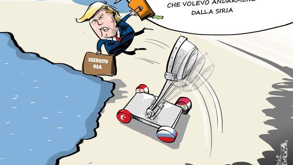 Trump se ne va dalla Siria - Sputnik Italia