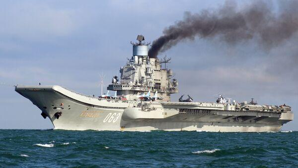 Portaerei Admiral Kuznetsov - Sputnik Italia