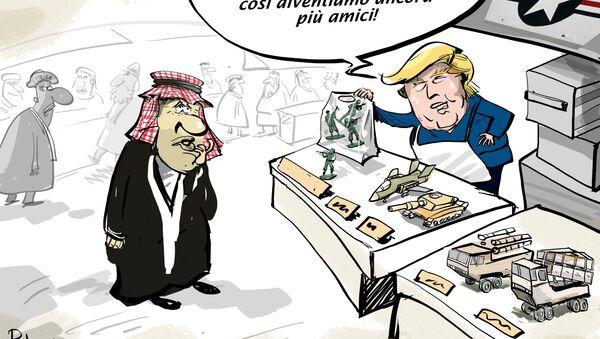Trump ha chiesto soldi ai sauditi per mantenere i militari USA in Siria - Sputnik Italia
