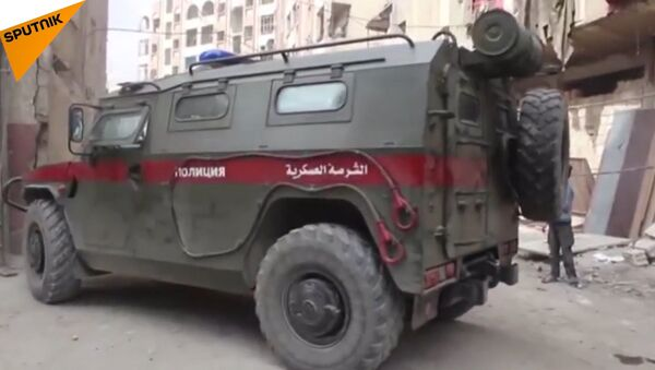I militari russi non trovano vittime dell'attacco chimico nella città siriana di Duma - Sputnik Italia