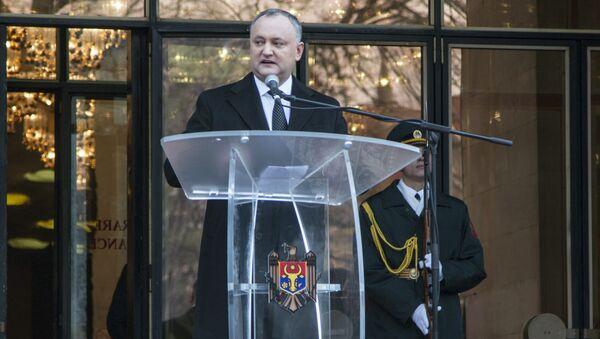 Il presidente della Moldavia Igor Dodon - Sputnik Italia
