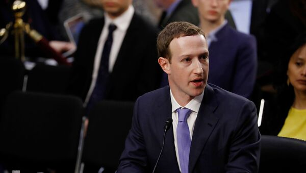 Mark Zuckerberg - Sputnik Italia