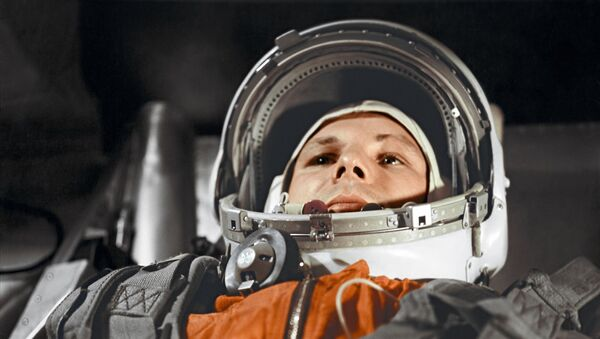 Yuri Gagarin prima del volo nello spazio del 12 aprile 1961 - Sputnik Italia