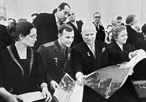 Il cosmo ieri e oggi, 57 anni fa il volo di Gagarin - Sputnik Italia