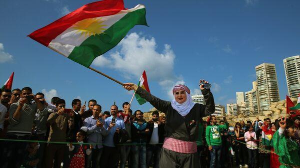 Curdi siriani a Qamishli, Siria - Sputnik Italia
