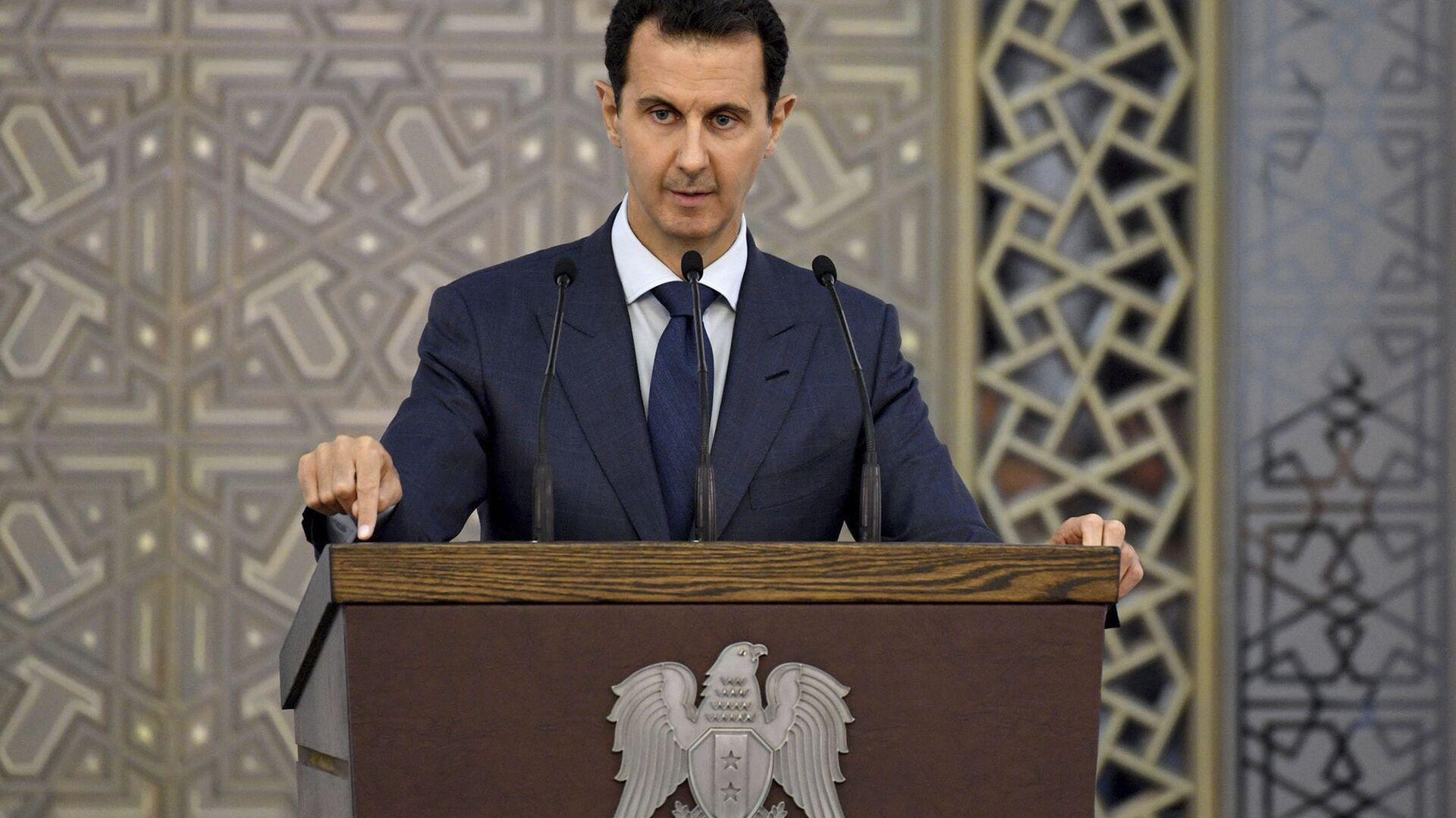 Il Presidente siriano Bashar Assad - Sputnik Italia, 1920, 27.05.2021