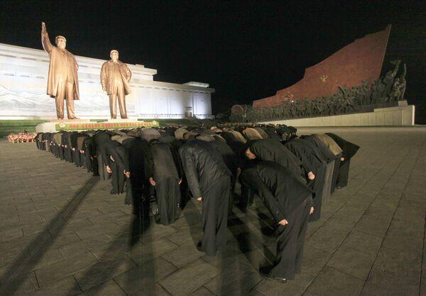Il giorno del Sole in Corea del Nord - Sputnik Italia