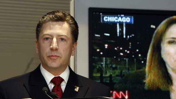 L'inviato speciale USA per l'Ucraina, Kurt Volker - Sputnik Italia