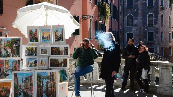 Artisti di strada a Venezia - Sputnik Italia