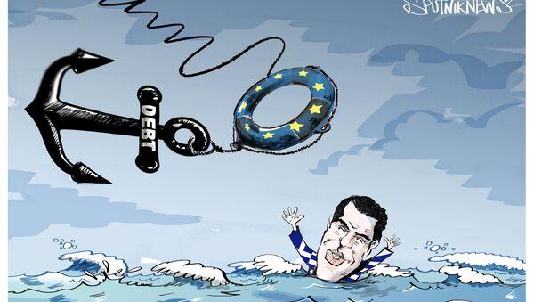 Un salvagente per Tsipras - Sputnik Italia