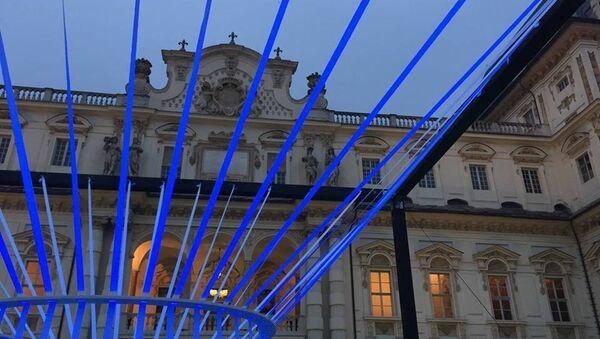 Luce in Cattedra, un'installazione luminosa progettata dal Politecnico nell'ambito dell'iniziativa studentesca - Sputnik Italia