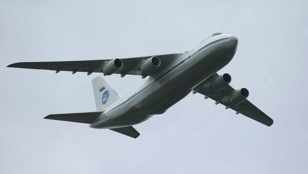 Antonov An-124 Condor/Ruslan strategic airlifter - Sputnik Italia