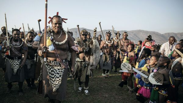 Re Mswati III di Swaziland - Sputnik Italia