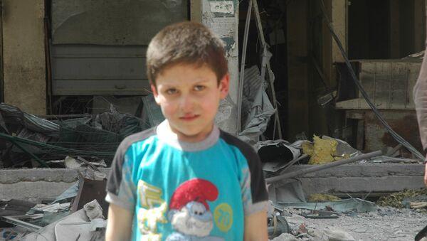 Ragazzo siriano - Sputnik Italia