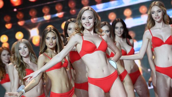 L'esibizione delle finaliste al concorso Miss Russia 2018. - Sputnik Italia