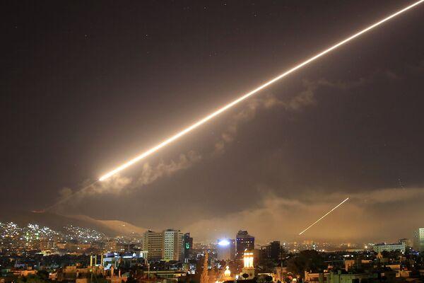 L'attacco missilistico degli USA a Damasco, Siria. - Sputnik Italia