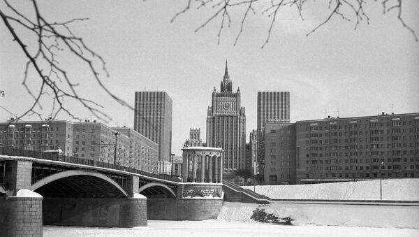 La veduta della sede del ministero degli Esteri dell'URSS a Mosca. (Foto d'archivio) - Sputnik Italia