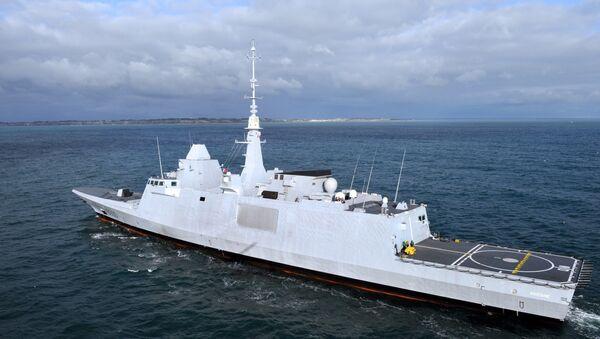 La fregata francese Aquitaine - Sputnik Italia