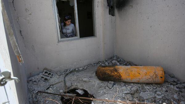 Giornalisti ed ispettori dell'OPAC visitano Douma, Siria - Sputnik Italia