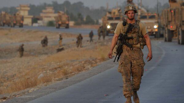 NATO officer in Afghanistan - Sputnik Italia