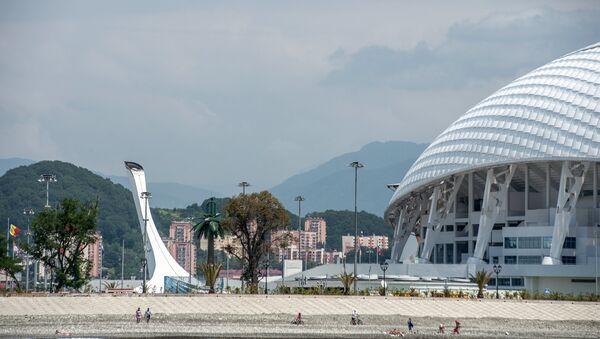 View of the Olympic Cauldron and Fisht Stadium in Sochi's Olympic Park. - Sputnik Italia