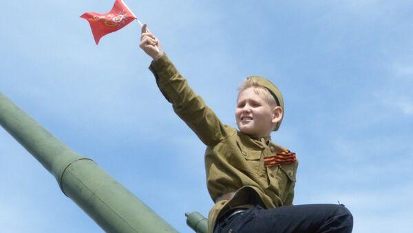 Donetsk, Giorno della Vittoria - Sputnik Italia