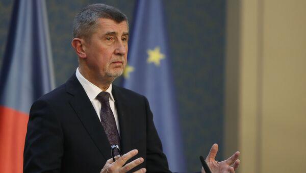 Český premiér Andrej Babiš - Sputnik Italia