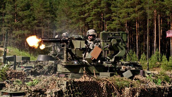 Gunner.The exercise spans multiple locations in Lithuania, Latvia and Estonia - Sputnik Italia