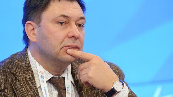 Главный редактор сайта РИА Новости Украина Кирилл Вышинский - Sputnik Italia