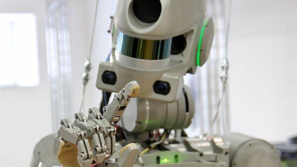 Il robot FEDOR (Final Experimental Demonstration Object Research)  - Sputnik Italia