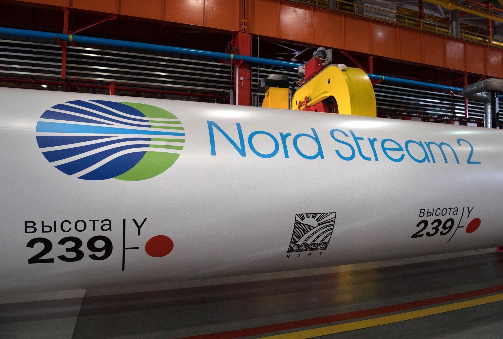 Nord Stream 2 gas pipeline construction project - Sputnik Italia, 1920, 14.10.2021