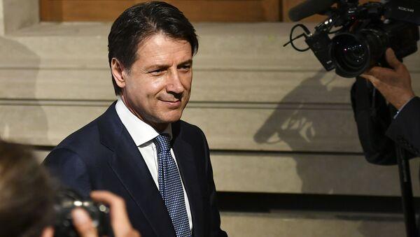Nuovo premier italiano Giuseppe Conte - Sputnik Italia