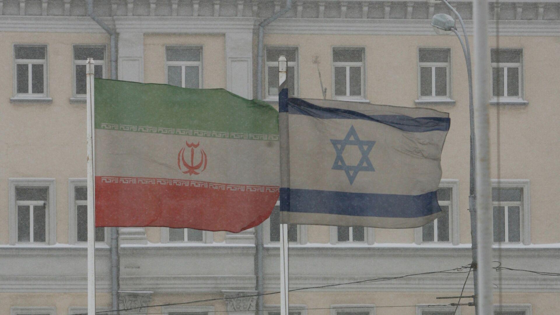 Le bandiere dell'Iran e dell'Israele a Mosca. - Sputnik Italia, 1920, 13.10.2021
