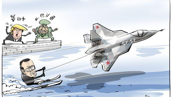 Turchia potrebbe acquistare i Su-57 russi invece degli F-35 - Sputnik Italia
