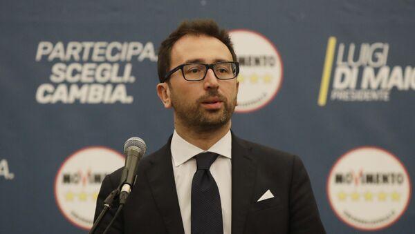 Il ministro della Giustizia Alfonso Bonafede - Sputnik Italia