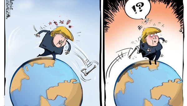 La guerra commerciale degli USA - Sputnik Italia