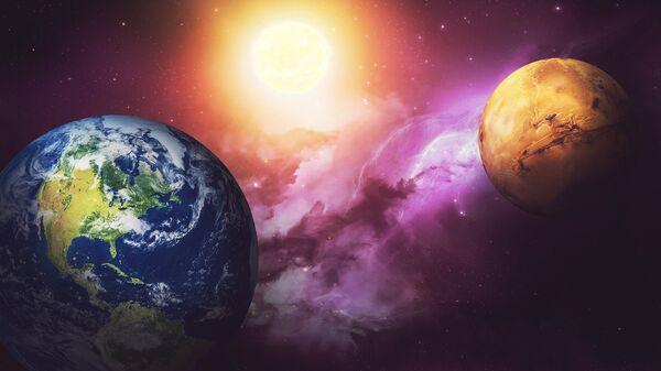 Terra e Marte - Sputnik Italia