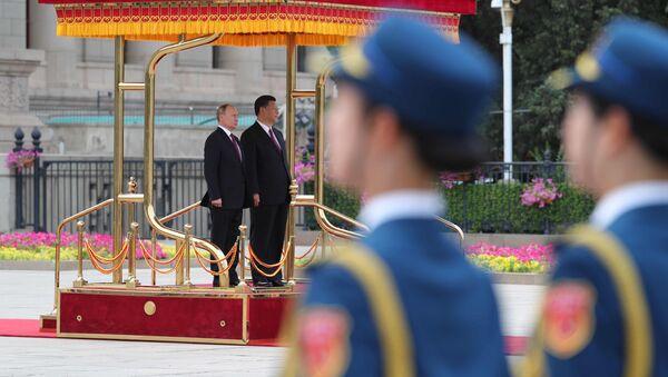 La visita del presidente Vladimir Putin in Cina. - Sputnik Italia