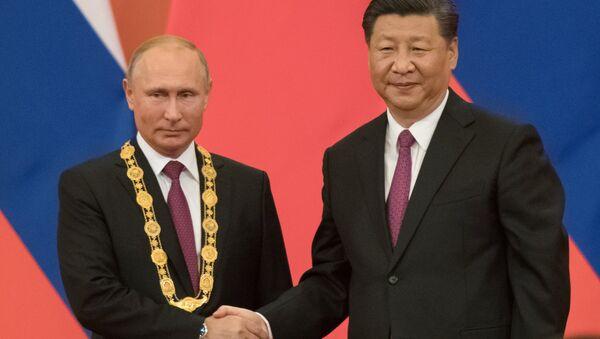 La visita di stato del presidente russo Putin in Cina - Sputnik Italia