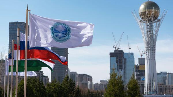 Bandiera della SCO - Sputnik Italia